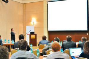conference, presentation in aditorium
